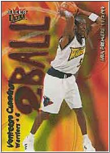 NBA 2000 / 01 Ultra Two Ball - No 13 of 15 TB - V. Cummings