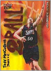 NBA 2000 / 01 Ultra Two Ball - No 5 of 15 TB - Todd MacCulloch