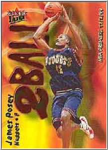 NBA 2000 / 01 Ultra Two Ball - No 7 of 15 TB - James Posey
