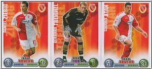 Fussball 2009 Topps Match Attax - Cottbus I komplettes Set