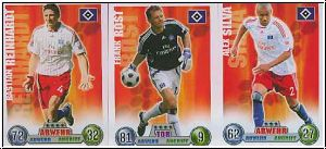 Fussball 2009 Topps Match Attax - Hamburg II komplettes Set