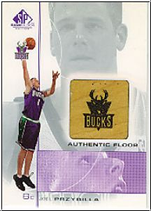 NBA 2000 / 01 SP Game Floor Authentic Floor - No JP