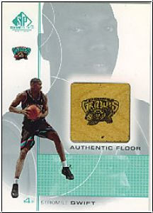 NBA 2000 / 01 SP Game Floor Authentic Floor - No SS
