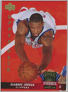 NBA 2008 / 09 Upper Deck Lineage Rookie Standouts - No RS-42