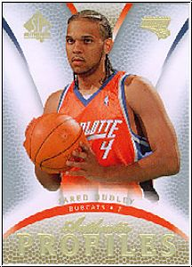 NBA 2007 / 08 SP Authentic Profiles - No AP-7 - Jared Dudley