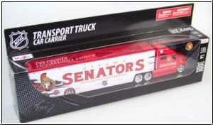 NHL 2009 Top Dog Transport Truck Ottawa Senators