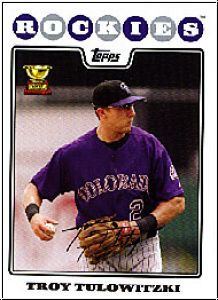 MLB 2008 Topps - No 385 - Troy Tolowitzki