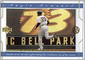 MLB 2002 / 03 UD SuperStars Magic Moments - No MM1