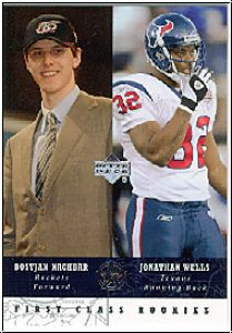 NFL / NBA 2002 / 03 UD SuperStars - No 272 - Nachbar / Wells
