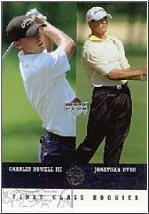 Golf 2002 / 03 UD SuperStars - No 298 - Howell III / Byrd