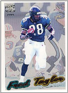 NFL 1999 Paramount - No 112 - Fred Taylor