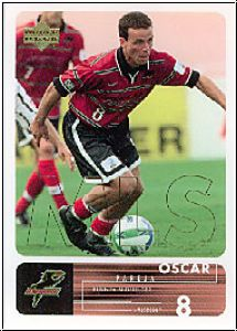 Fussball 2000 Upper Deck MLS Soccer - No 22 - Oscar Pareja
