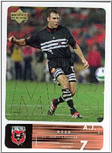 Fussball 2000 Upper Deck MLS Soccer - No 8 - A.J. Wood