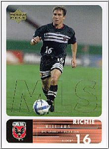 Fussball 2000 Upper Deck MLS Soccer - No 3 - Richie Williams