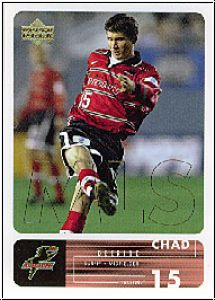 Fussball 2000 Upper Deck MLS Soccer - No 21 - Chad Deering
