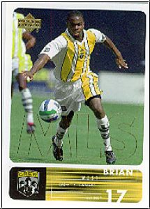 Fussball 2000 Upper Deck MLS Soccer - No 27 - Brian West
