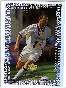 Fussball 2000 Upper Deck MLS Soccer Soccer Spotlight - No S12