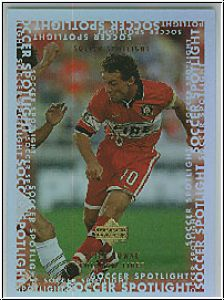 Fussball 2000 Upper Deck MLS Soccer Soccer Spotlight - No S16
