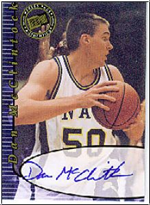 NBA 2000 Press Pass Autographs - No 14 - Dan McClintock