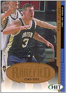 NBA 2001 SAGE HIT Rarefield Bronze - No R20