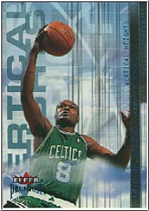 NBA 2001 / 02 Fleer Premium Vertical Heights - No 6 of 25 VH
