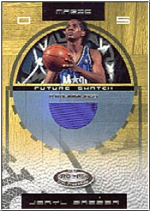 NBA 2001 / 02 Hoops Hot Prospects - No 102 - Jeryl Sasser