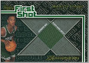 NBA 2001 / 02 Topps Xpectations First Shot - No FS-20