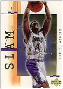 NBA 2001 / 02 Upper Deck SlamCenter - No SC7 - Chris Webber