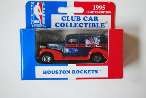 NBA 1995 Matchbox Auto Team Logo Charlotte Hornetts
