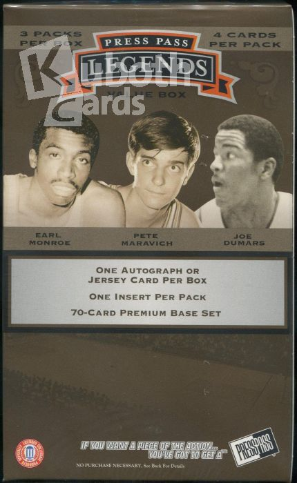 NBA 2007-08 Press Pass Legends Hobby Blaster Box