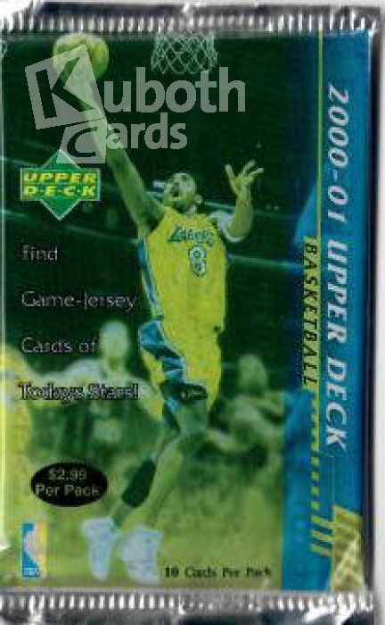 NBA 2000 / 01 Upper Deck Retail