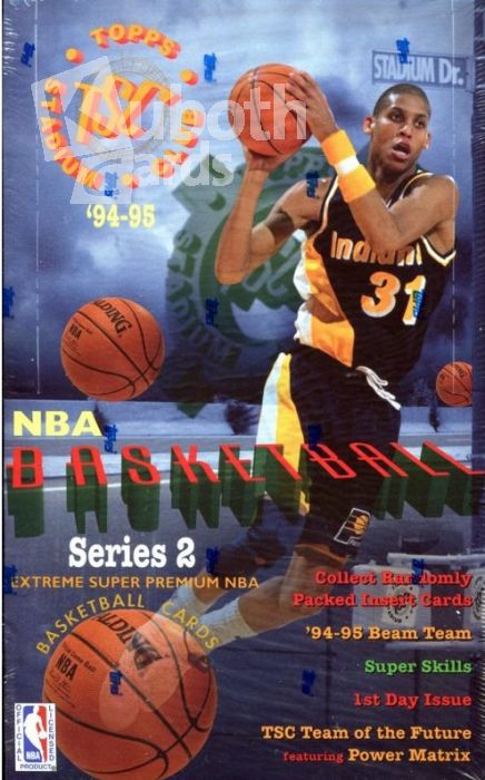 NBA 1994/95 Topps Stadium Club Serie 2