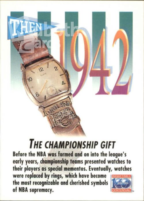 NBA 1991-92 SkyBox - No 528 - The Championship Gift