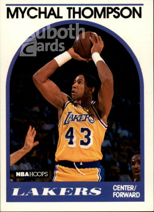 NBA 1989-90 Hoops - No 4 - Michael Thompson