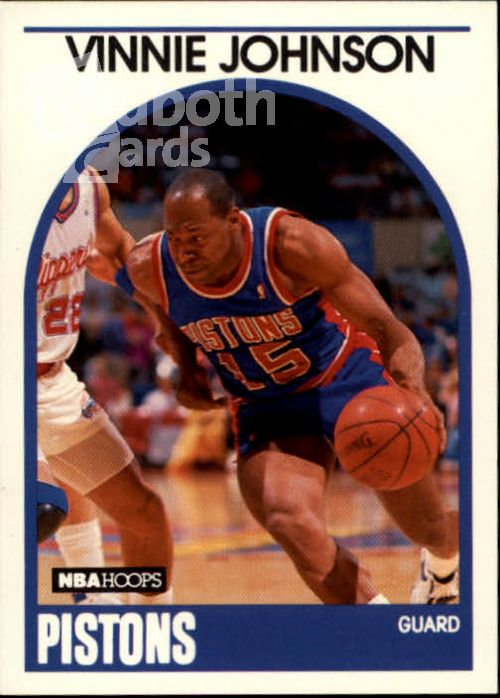NBA 1989-90 Hoops - No 188 - Vinnie Johnson