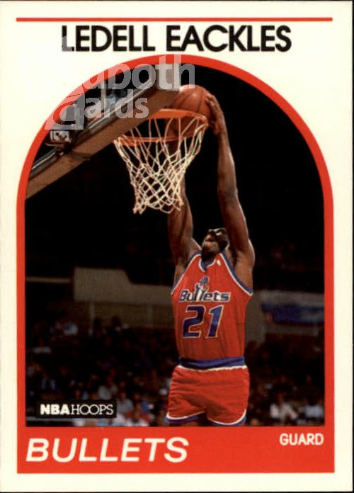 NBA 1989-90 Hoops - No 194 - Ledell Eackles