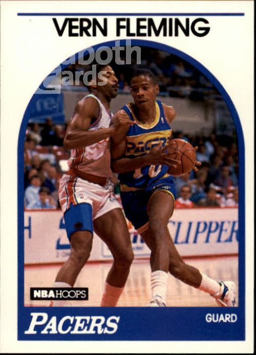 NBA 1989-90 Hoops - No 231 - Vern Fleming