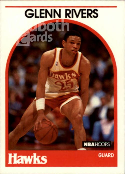 NBA 1989-90 Hoops - No 252 - Glenn Rivers