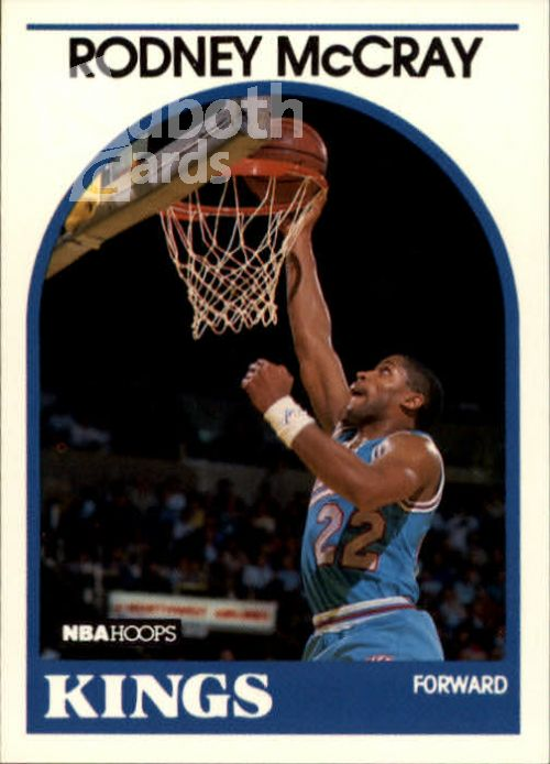 NBA 1989-90 Hoops - No 257 - Rodney McCray