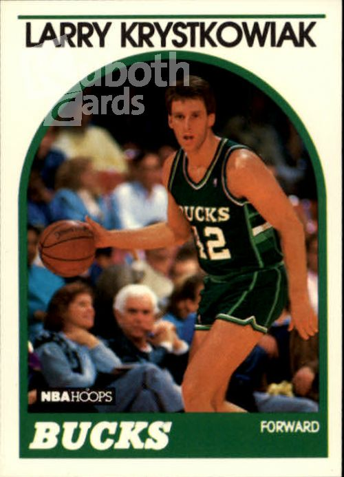 NBA 1989-90 Hoops - No 258 - Larry Krystkowiak