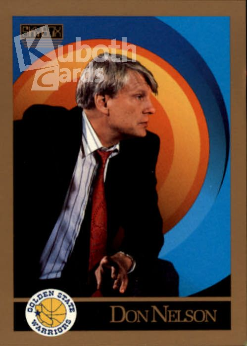 NBA 1990-91 SkyBox - No 309 - Don Nelson