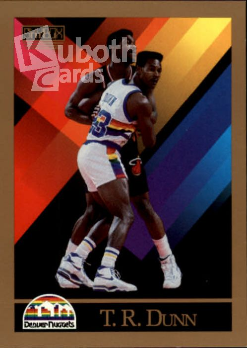 NBA 1990-91 SkyBox - No 378 - T.R. Dunn