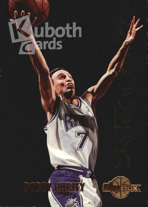 NBA 1994-95 SkyBox Premium SkyTech Force - No SF7 - Bobby Hurley