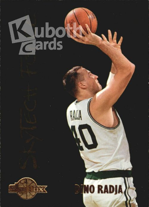 NBA 1994-95 SkyBox Premium SkyTech Force - No SF22 - Dino Radja