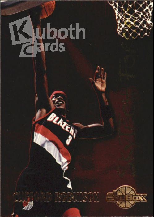 NBA 1994-95 SkyBox Premium SkyTech Force - No SF24 - Clifford Robinson