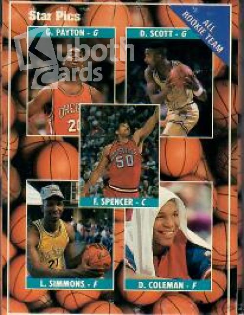 NBA 1990-91 Star Pics Pro Prospects - komplettes Set