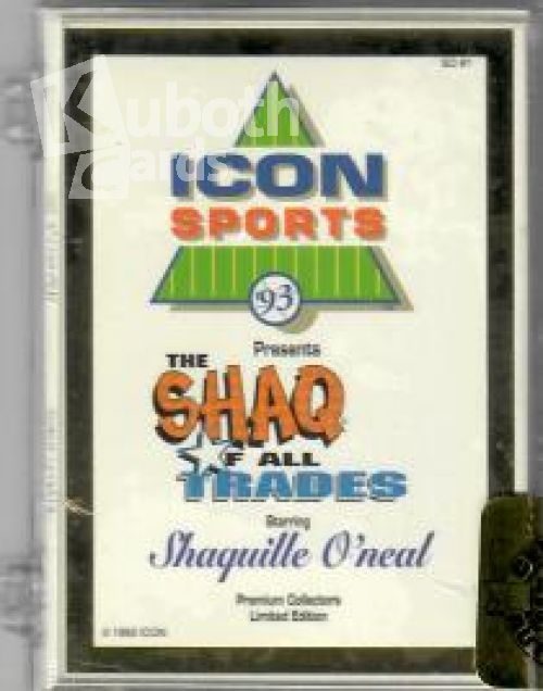 NBA 1992-93 Icon Sports Shaq of all Trades Factory Set mit Gold Umrandung