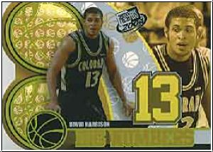 NBA 2004 Press Pass Big Numbers - No BN 20/25 - David Harrison