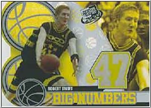 NBA 2004 Press Pass Big Numbers - No BN 6/25 - Robert Swift