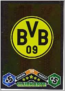 Fussball 2010 / 11 Topps Match Attax - No 326 - Logo Dortmund